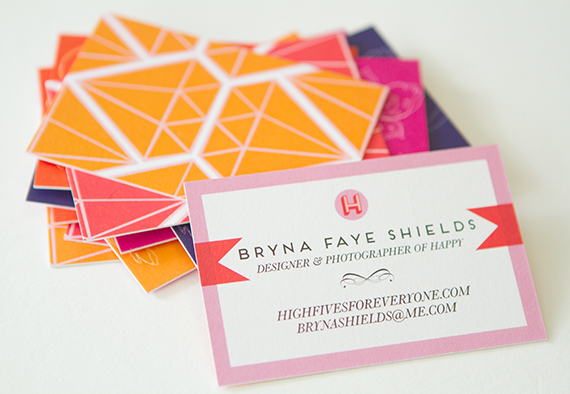 High Fives for Everyone business cards