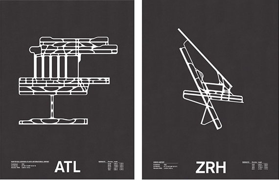 runway series screenprints by jerome daksiewicz 2
