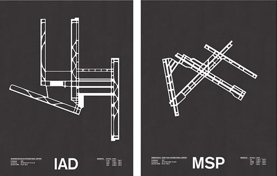 runway series screenprints by jerome daksiewicz 3
