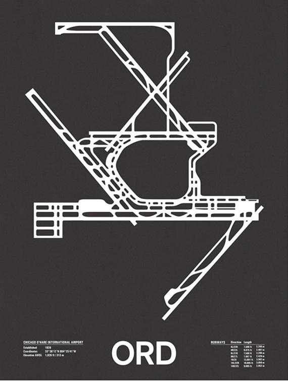 runway series screenprints by jerome daksiewicz