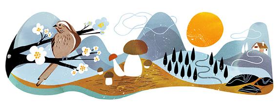 sanna mander illustrations landscape