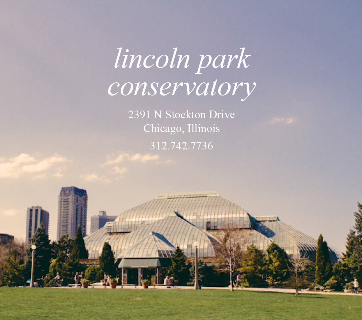Lincoln Park Conservatory1