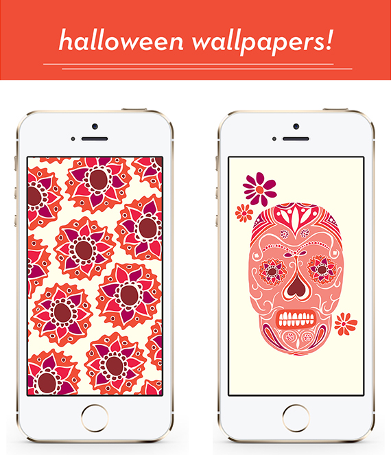 Halloween iPhone Wallpapers from High Fives for Everyone
