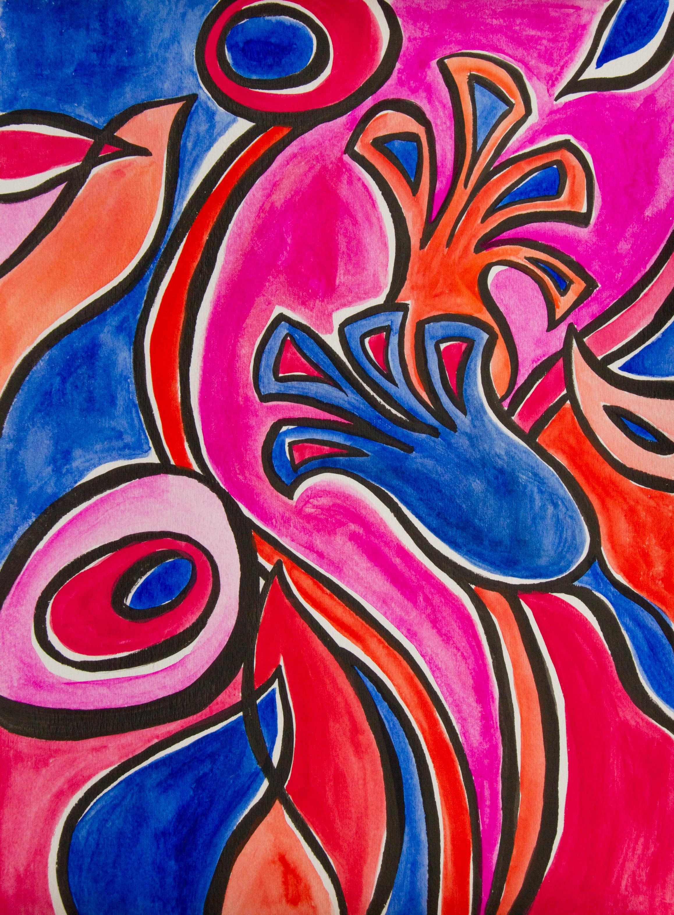 Bold Florals No 2 | Bryna Shields