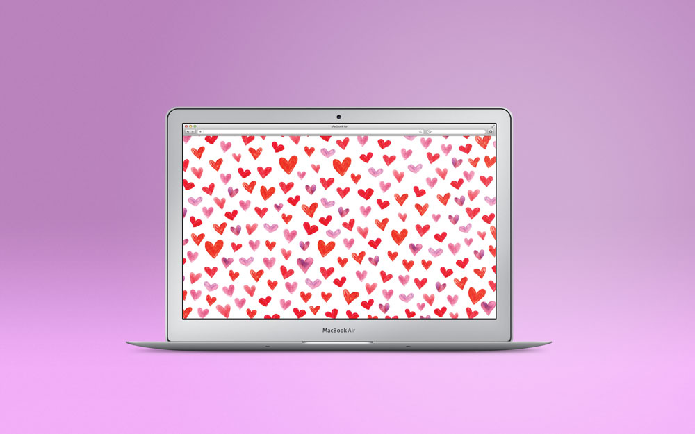 Mini Hearts Desktop Download by Bryna Shields