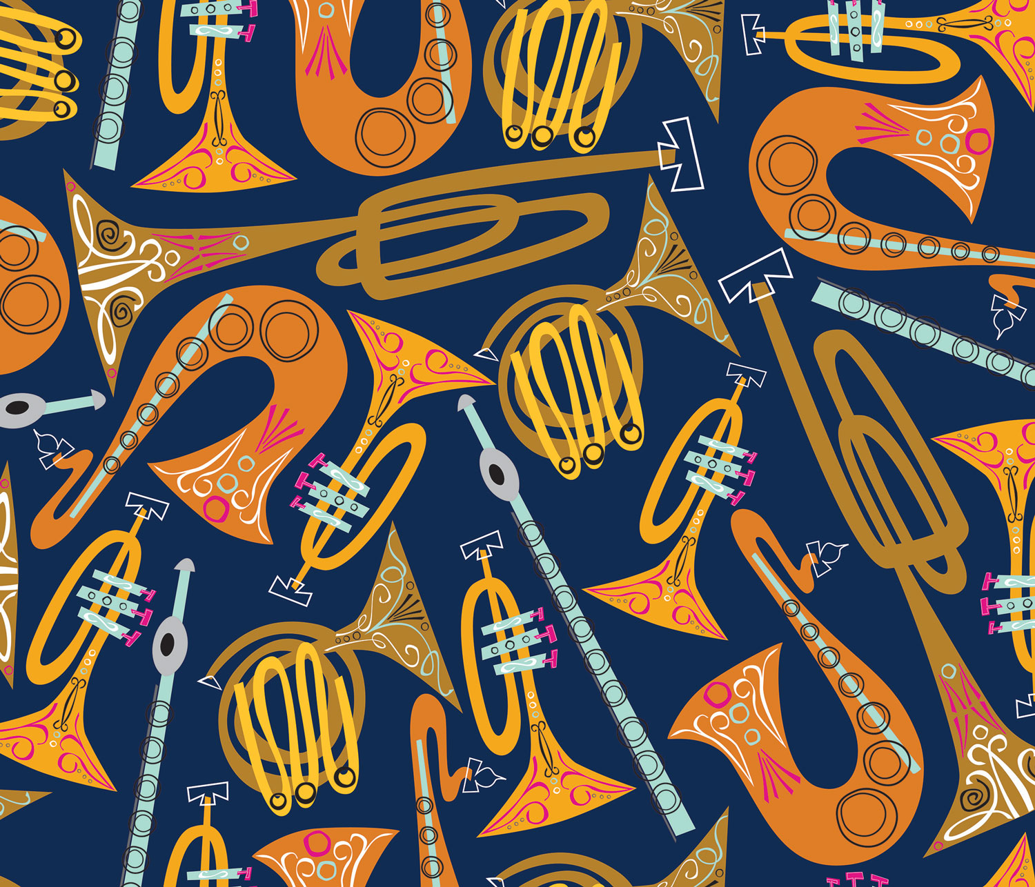 Cheers and Fanfare Pattern by Bryna Shields