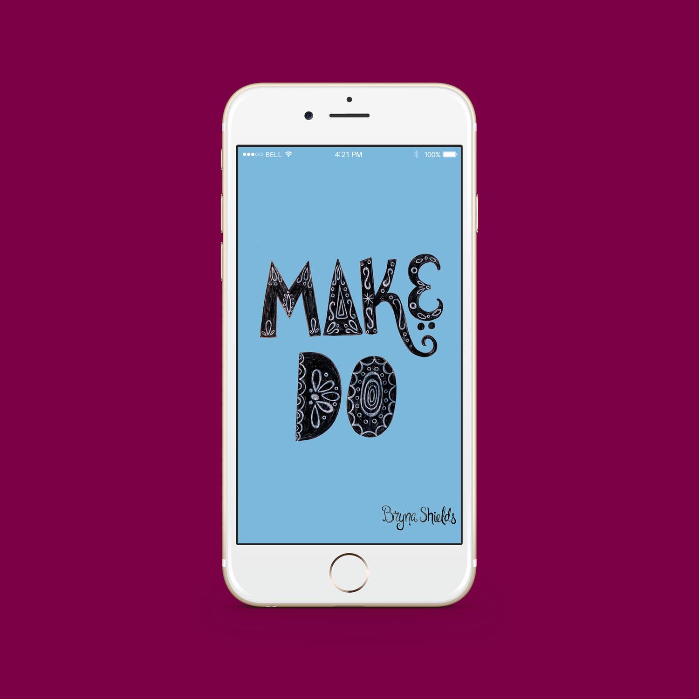 Make/Do iPhone Desktop Download