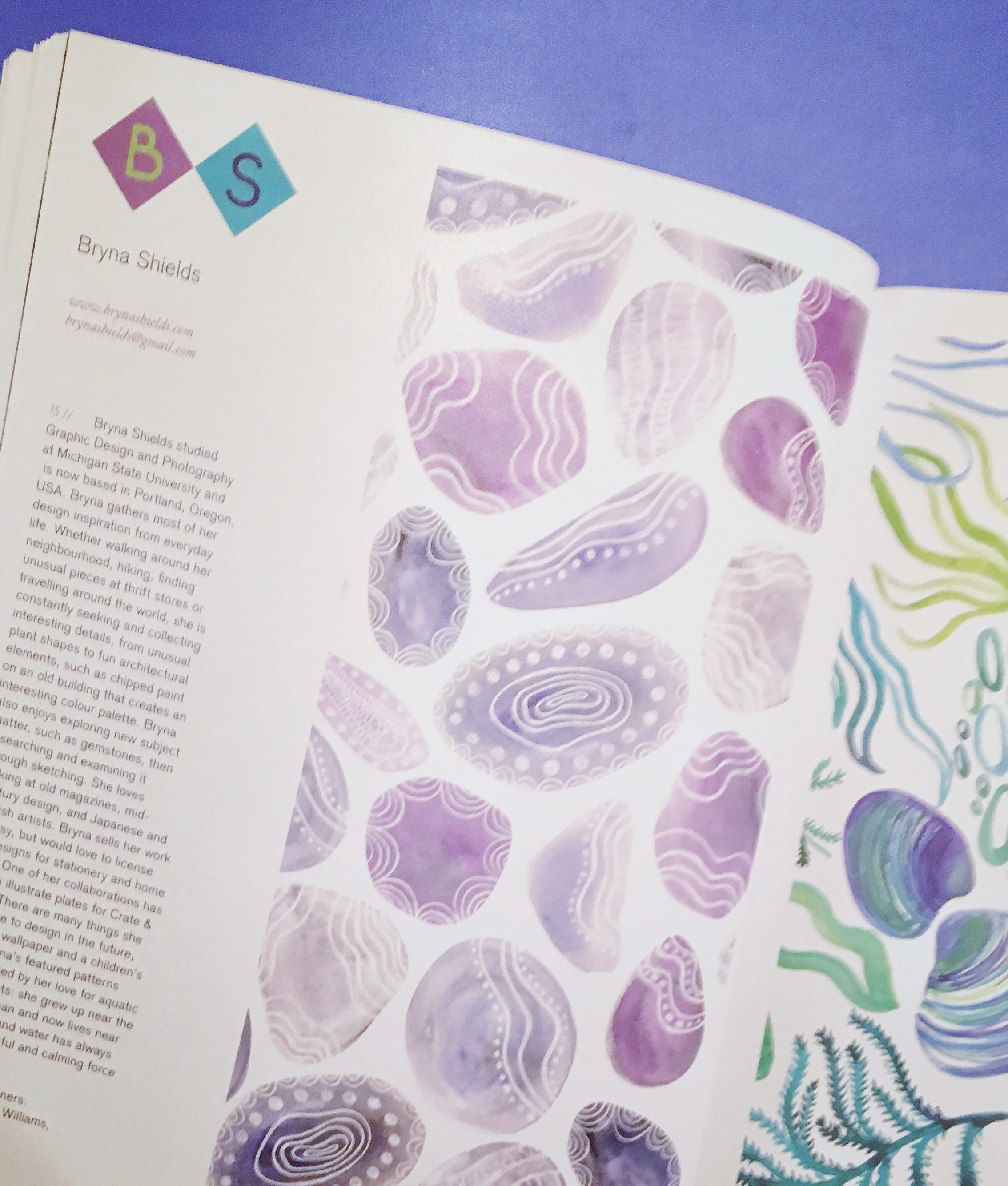 print and pattern nature book
