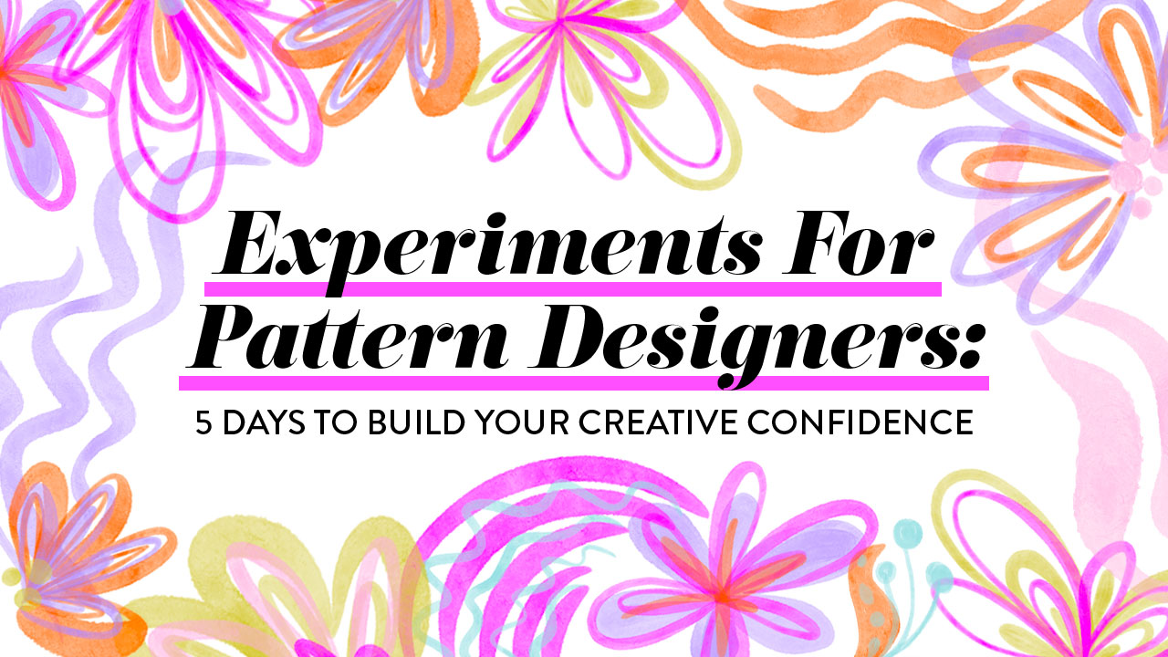 Experiments for Pattern Designers