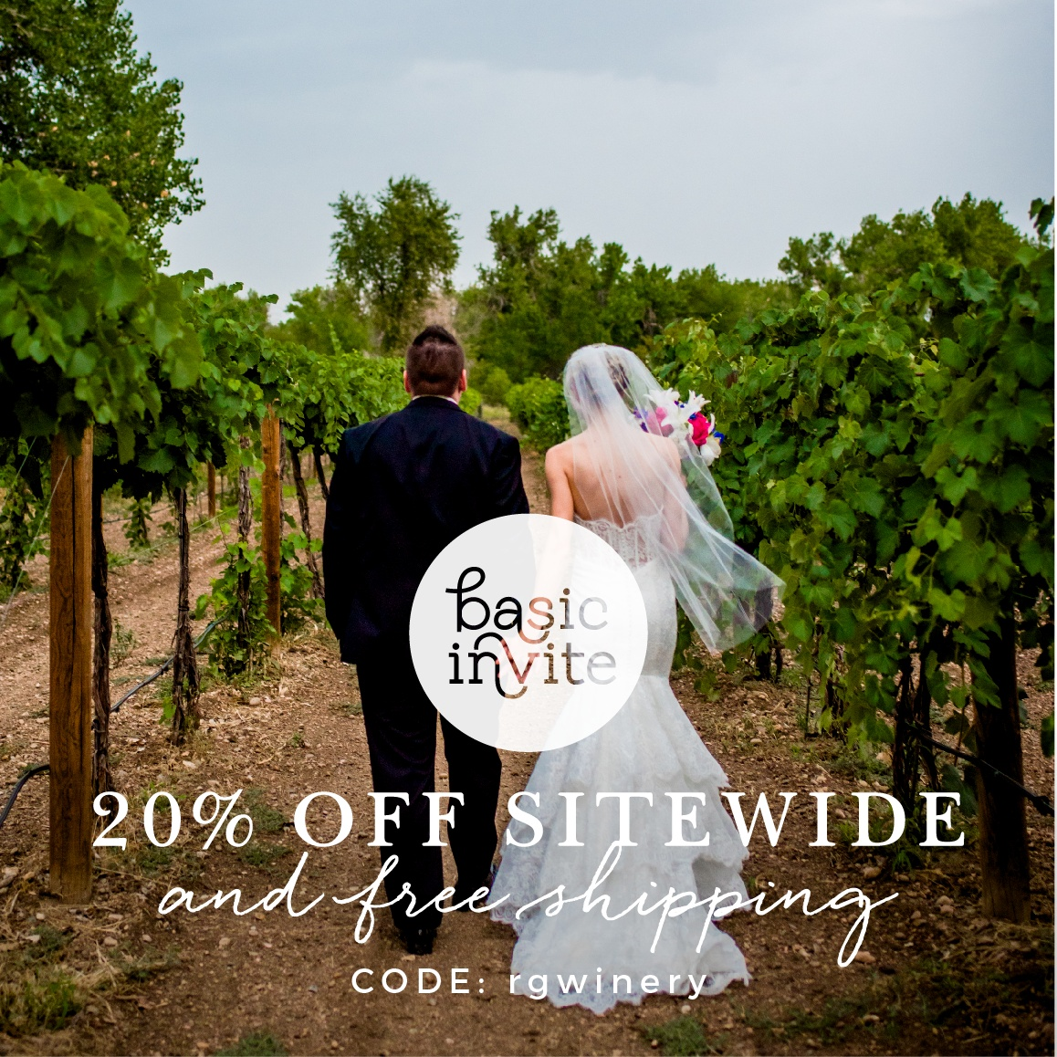"$100 Gift Card Code: ASK HAWLEY   20% off invitations and free shipping- use code above   IMPORTANT NOTE:  Make sure you apply the promo code BEFORE applying the gift card. The system is not ""perfect"" and wont apply the promo code after the gift card is applied. Also, you'll get your discount on everything!"