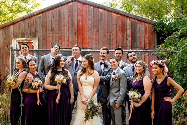 Not only are we here for you as a couple, we're here to help your squad have a blast and look great doing it!