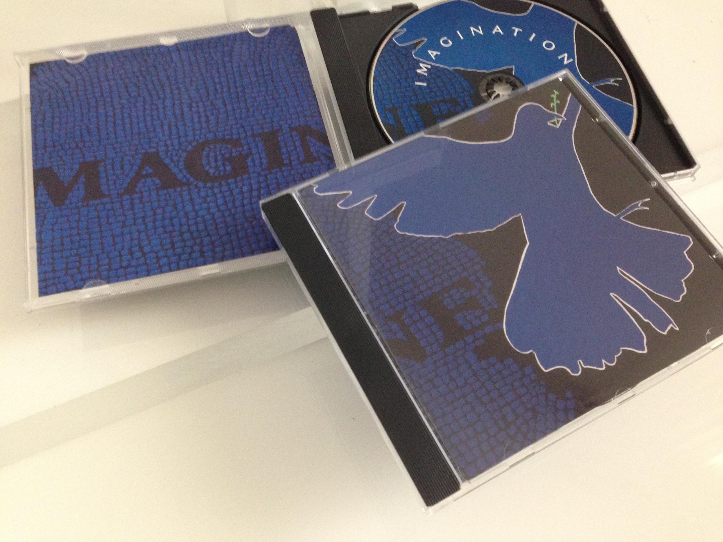 """Imagine"" used asCover Art, CD print and Booklet ArtforToco's ""Imagination"" compilation CD"