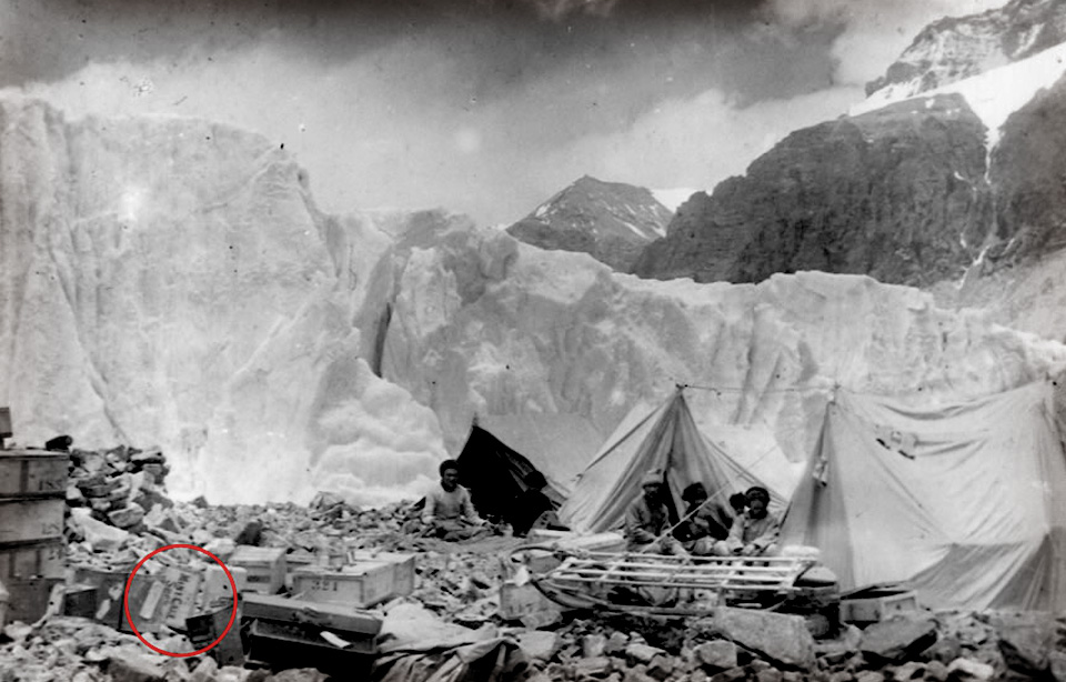 Kendal Mint Cake on the 1924 Everest Expedition