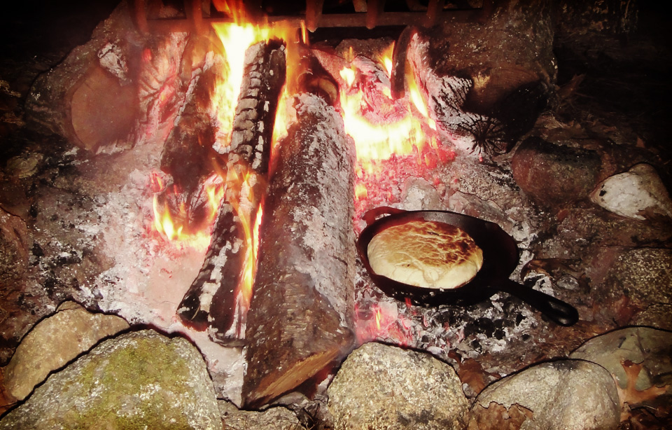 Cooking Bannock