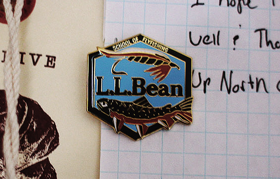 Bean School of Fly Fishing Button