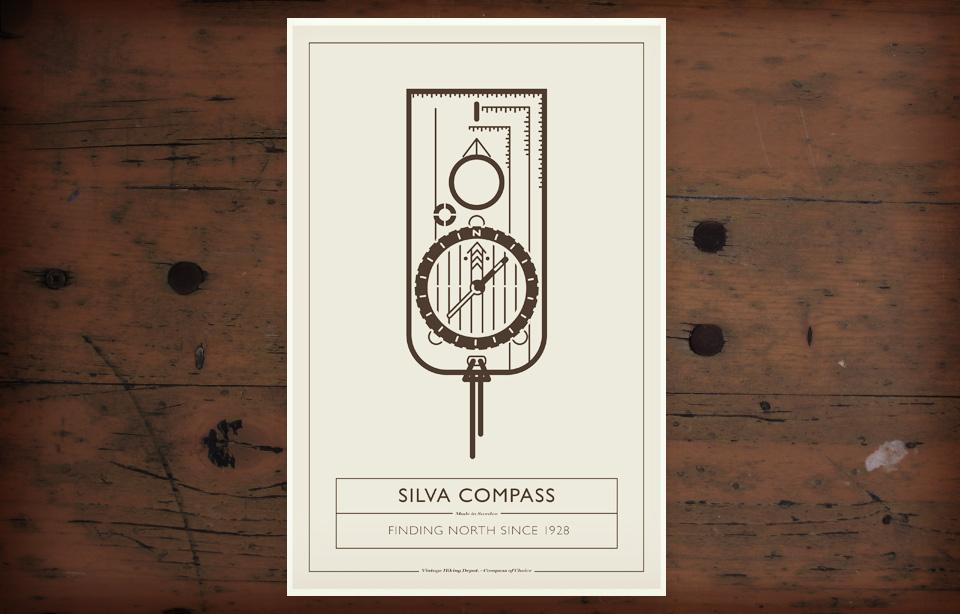 VHD Poster - Silva Compass