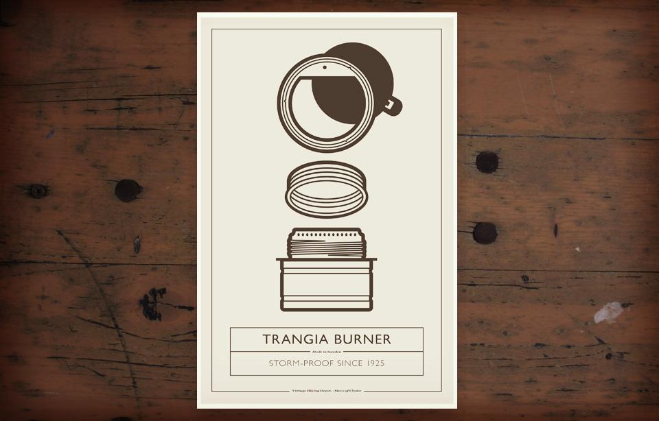 VHD Poster - Trangia Burner