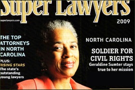 North Carolina Super Lawyers   By Susan Shackelford
