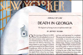 The New Yorker   By Jeffrey Toobin