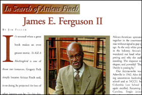 The North Carolina State Bar Journal   By Jim Fuller