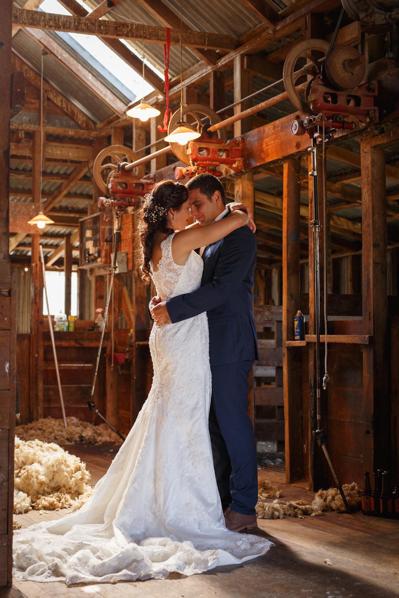 Makoura-lodge-wedding-highlight-photography-woolshed-new-zealand