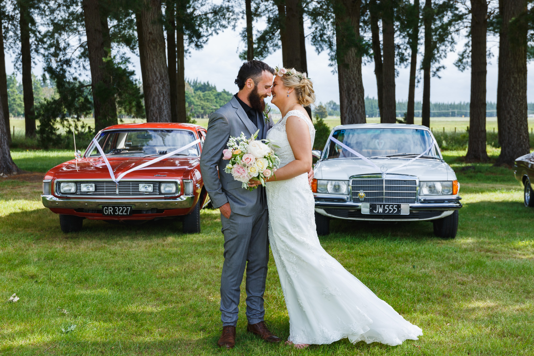 Hannah and Dan's wedding, Palmerston North, New Zealand