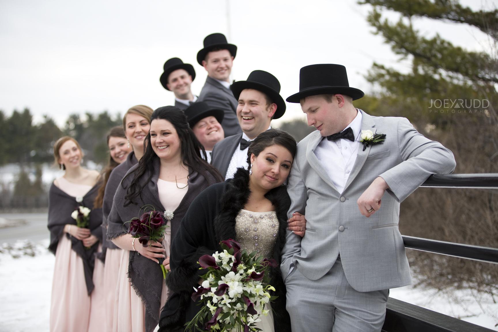 Fun Wedding Party Photos Ottawa Joey Rudd Photography