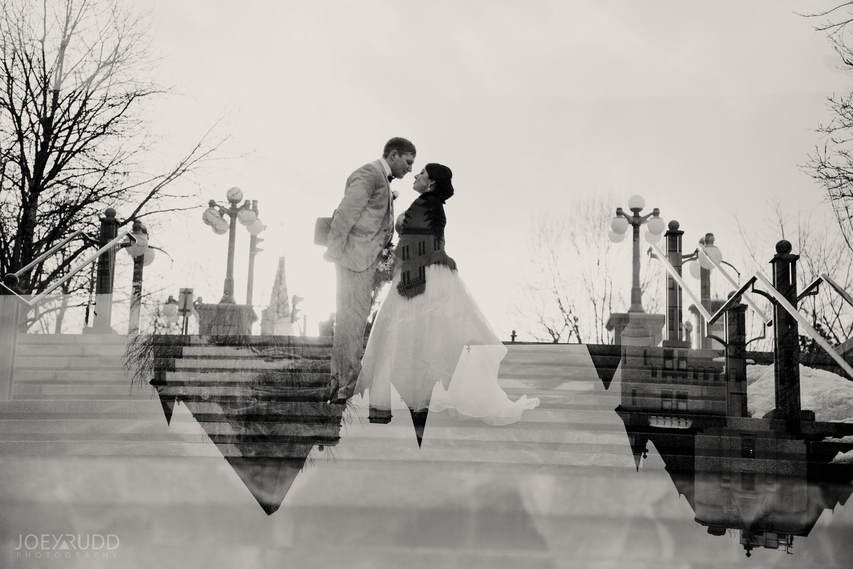 Double Exposure Photo Ottawa Wedding Photographer