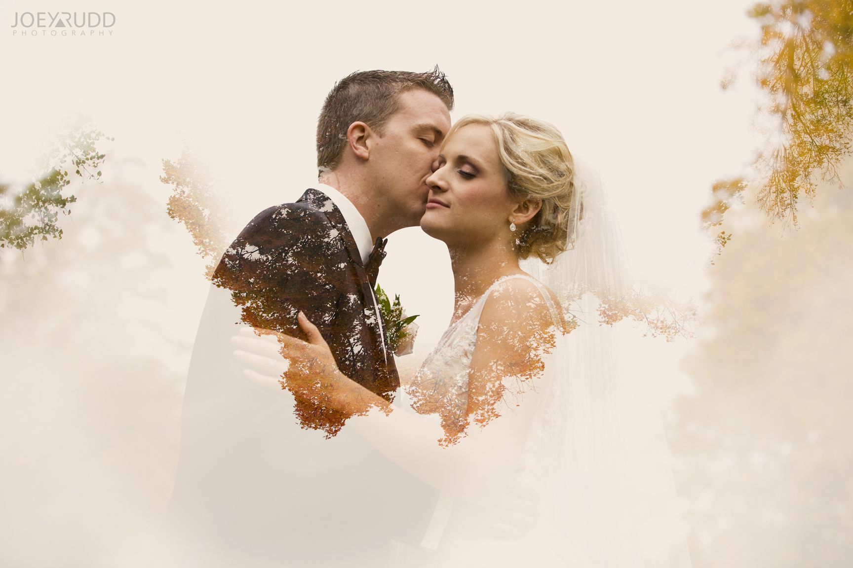 Double Exposure Photo by Joey Rudd Photography Award Winning Ottawa Wedding Photographer