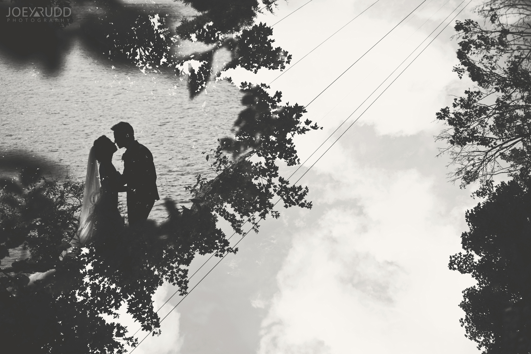 Double Exposure Photo by Joey Rudd Photography Award Winning Ottawa Wedding Photographer Gatineau Wedding La Grange