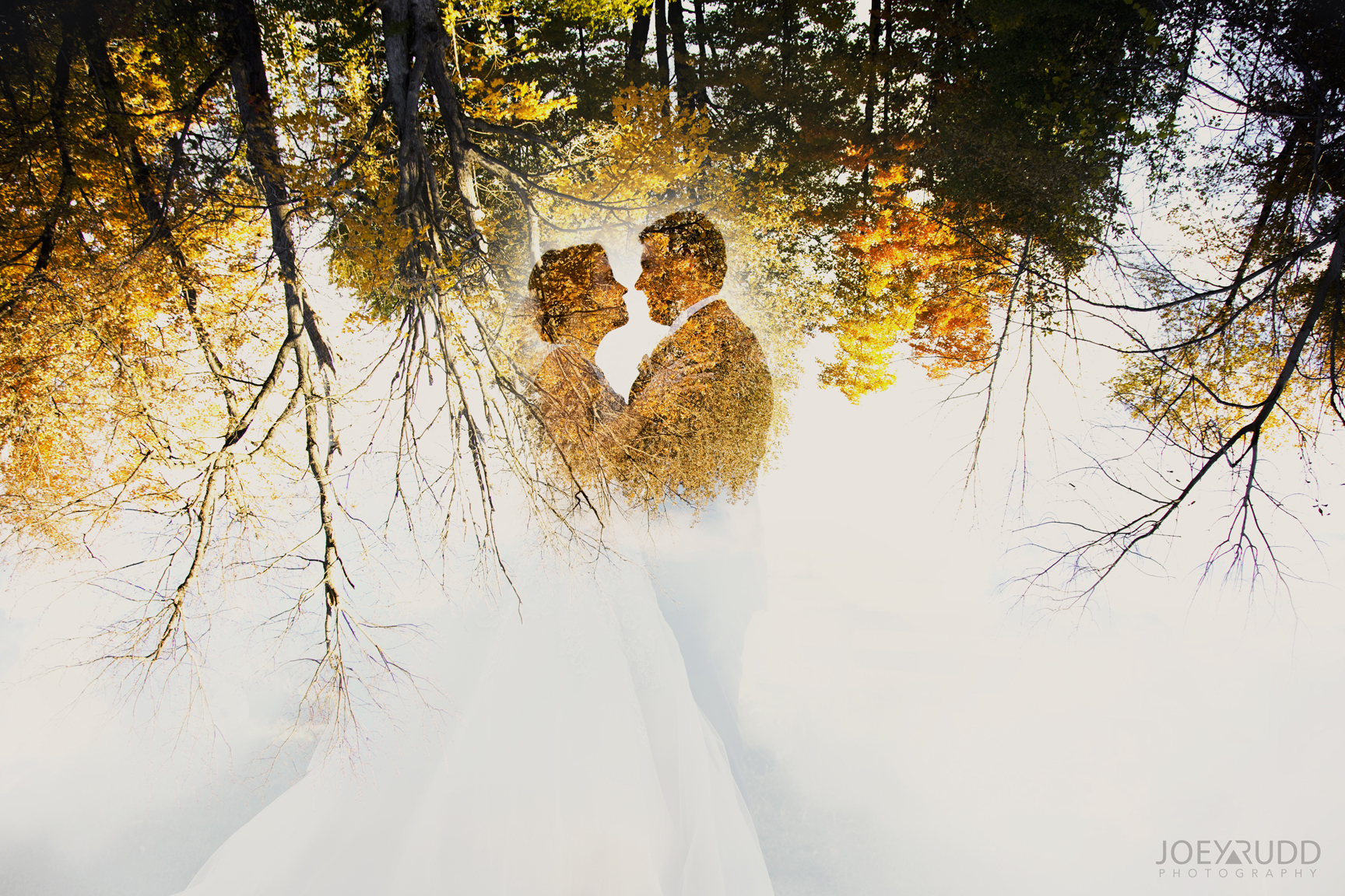 Double Exposure Photo by Joey Rudd Photography Award Winning Ottawa Wedding Photographer Strathmere