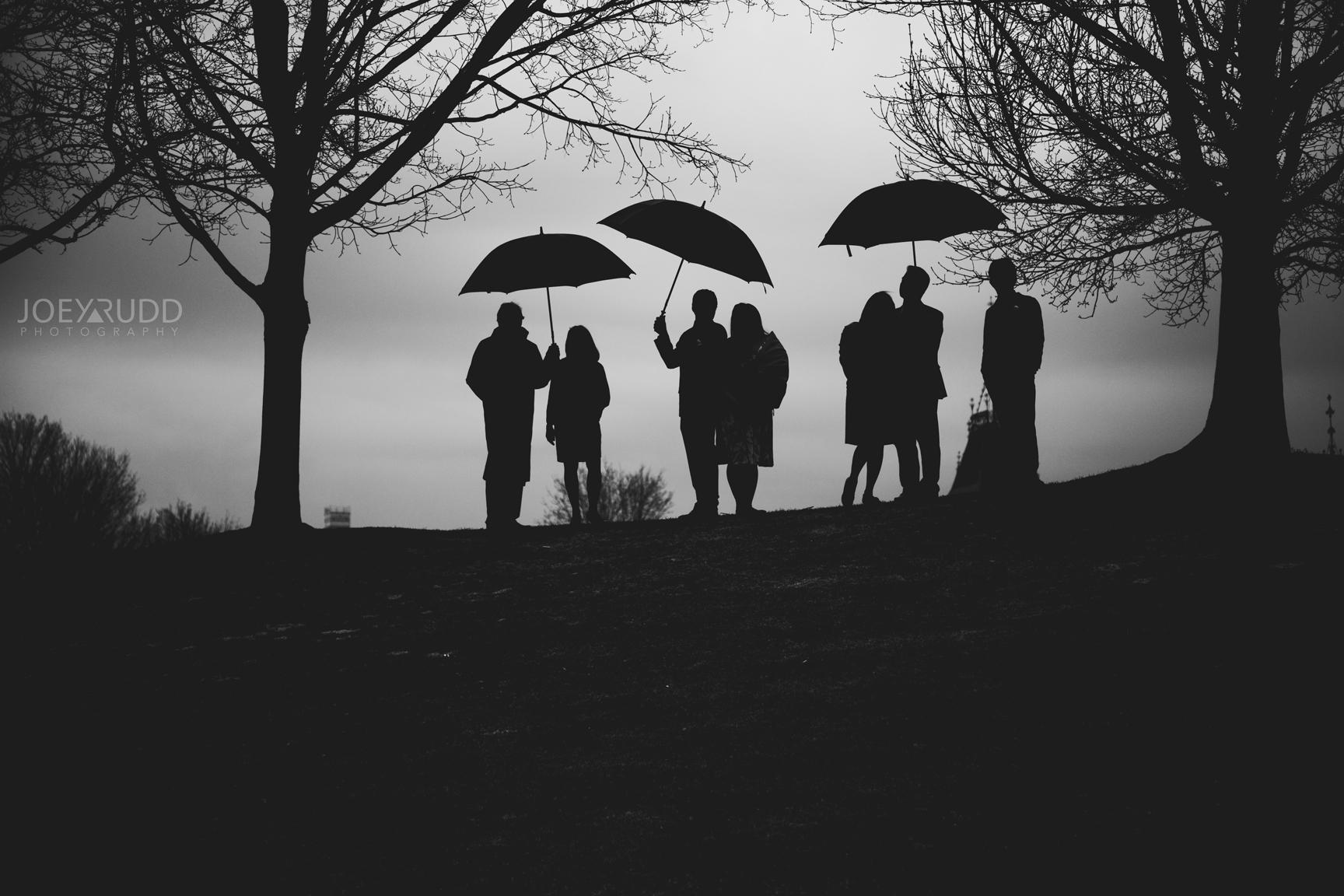 Ottawa Elopement Wedding Photographer Joey Rudd Photography Family Umbrellas