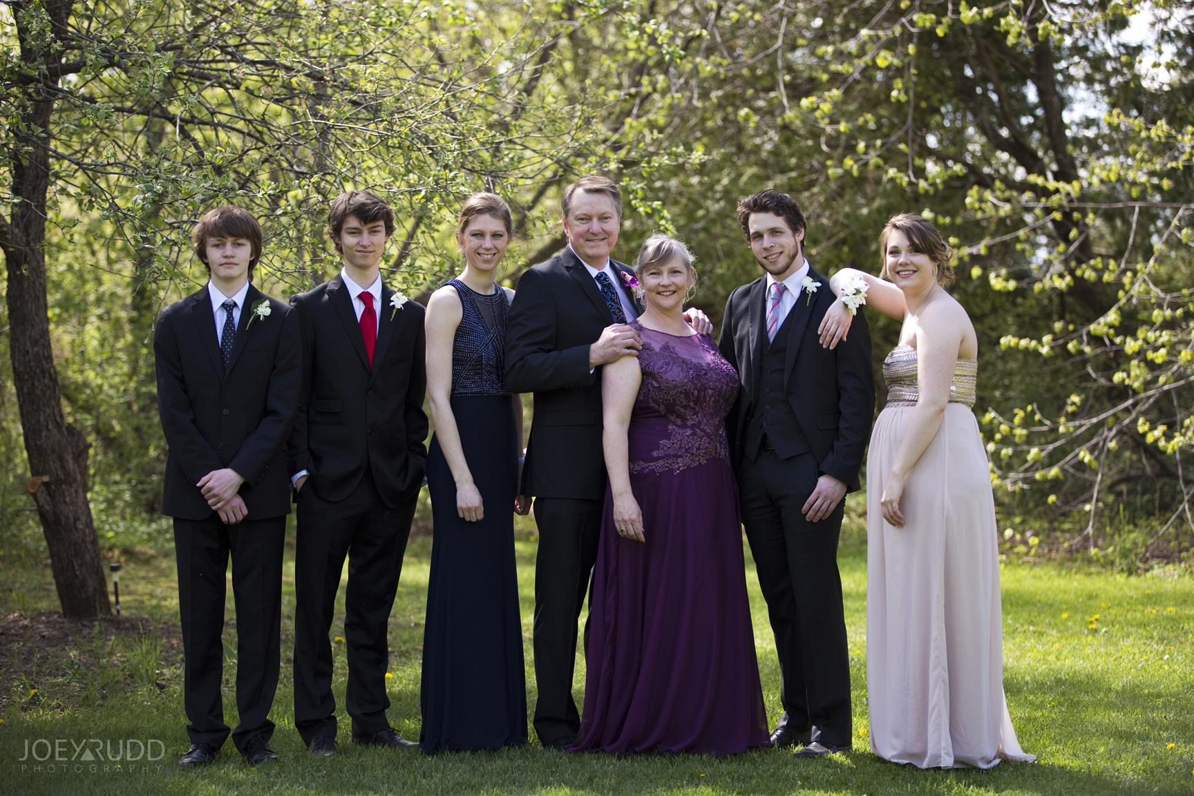 Elopement Session at Jabulani Vineyard by Joey Rudd Photography Ottawa Wedding Photographer Family Shot