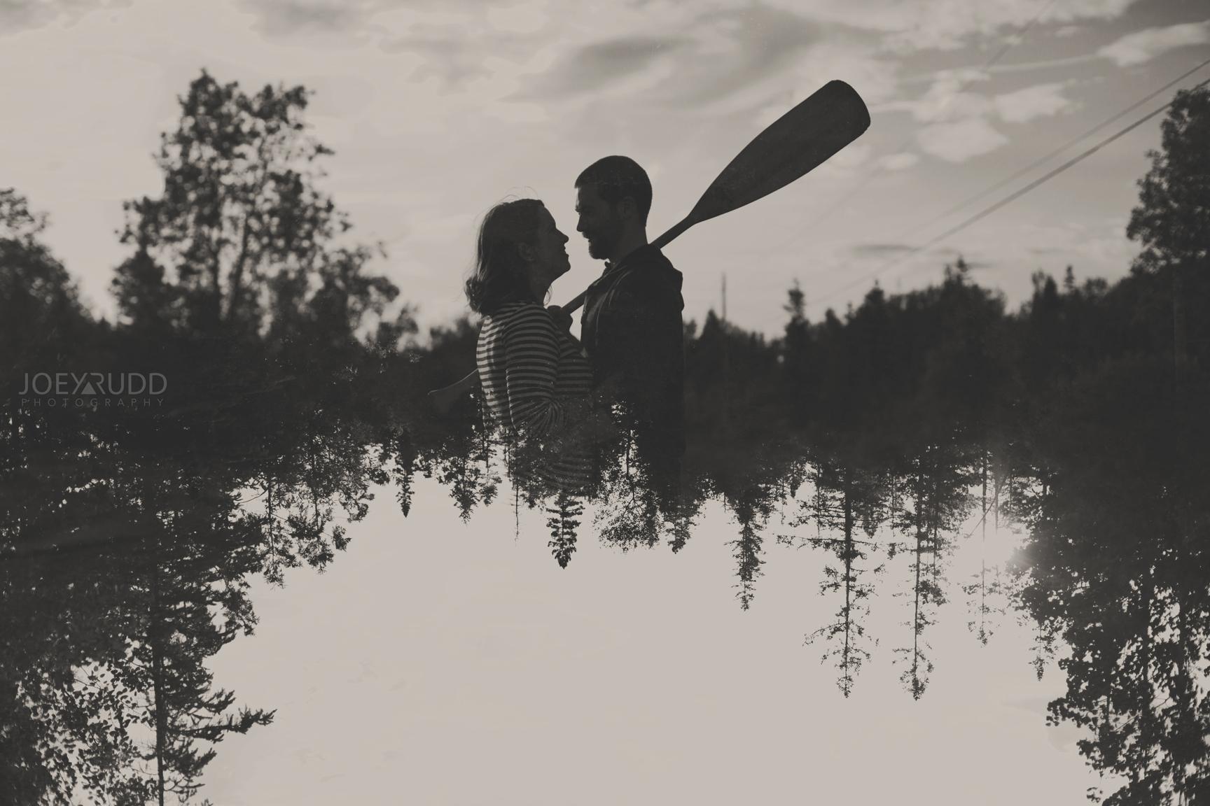 Rustic Engagement by Ottawa Wedding Photographer Joey Rudd Photography Double Exposure
