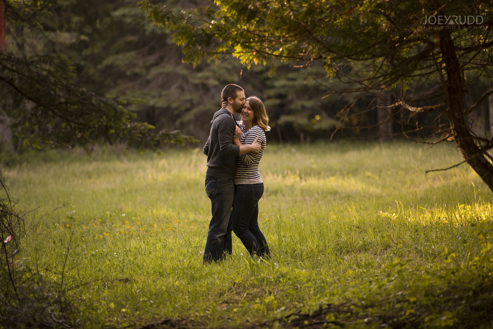 Rustic Engagement by Ottawa Wedding Photographer Joey Rudd Photography Nature Candid
