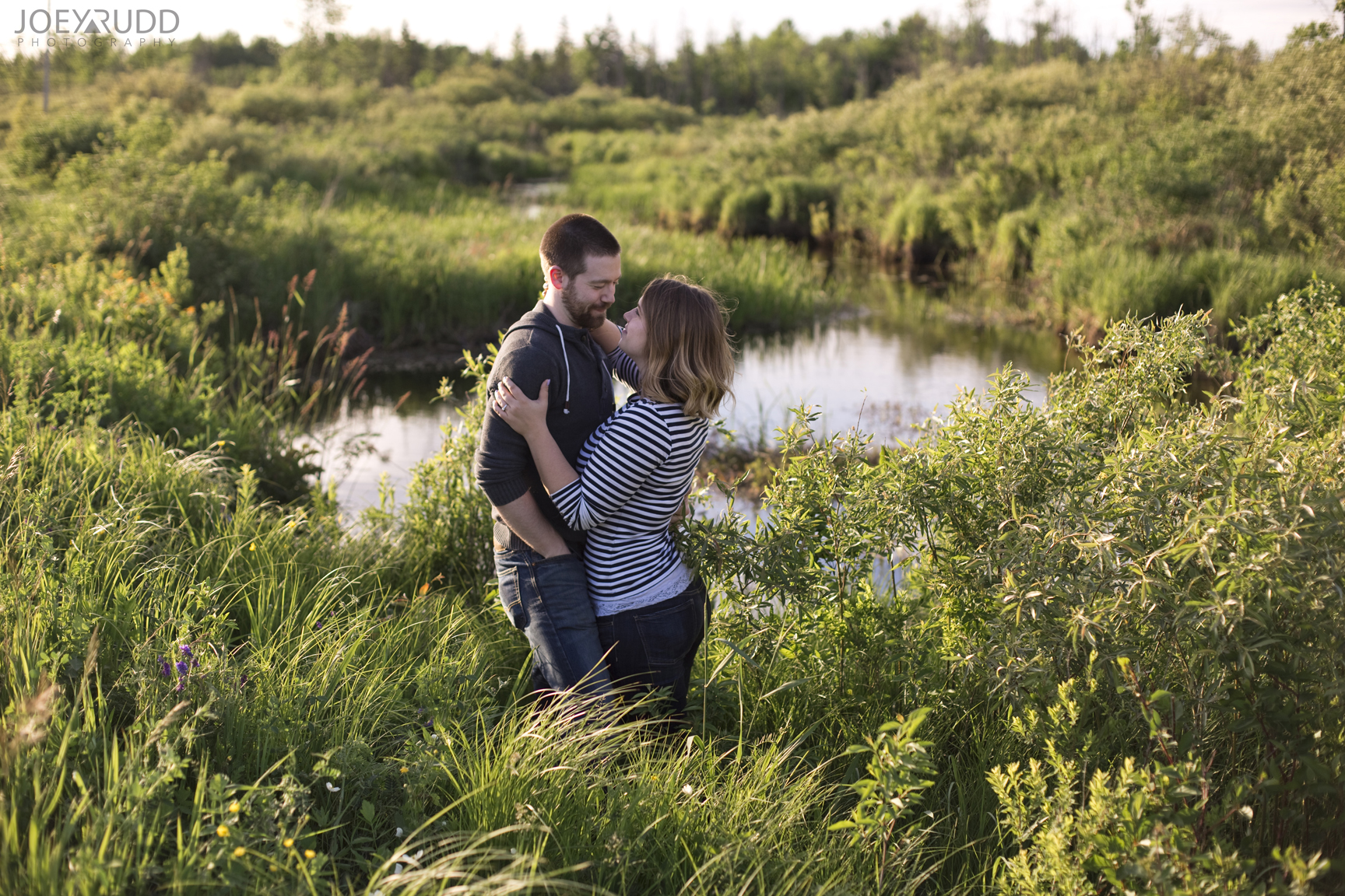 Rustic Engagement by Ottawa Wedding Photographer Joey Rudd Photography River
