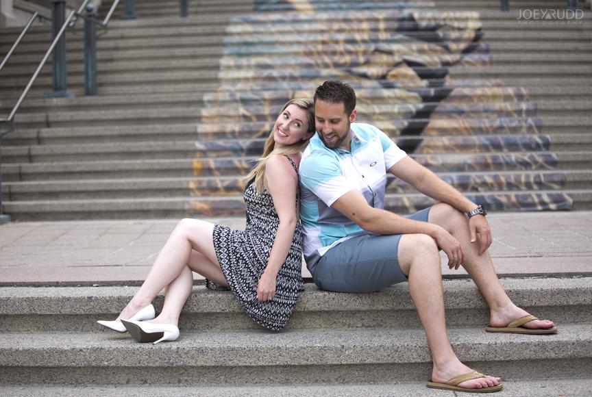 Joey Rudd Photography Ottawa Wedding Photographer Engagement Steps Market