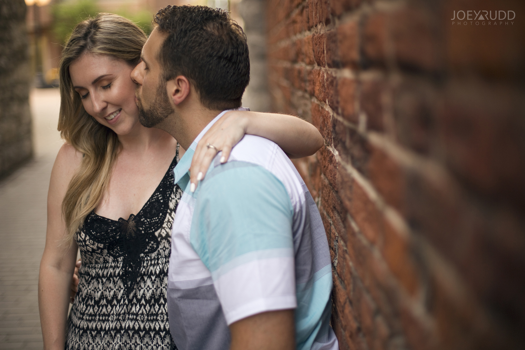 Joey Rudd Photography Ottawa Wedding Photographer Engagement Bricks
