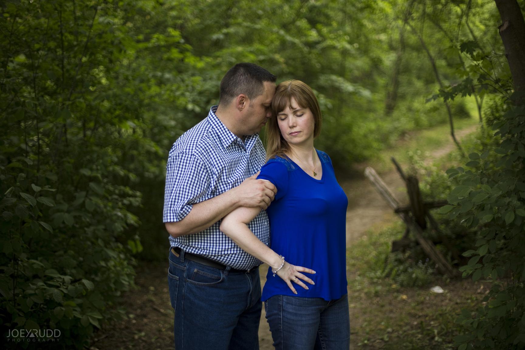 Manotick Engagement by Ottawa Wedding Photographer Joey Rudd Photography at Watsons Mill Path