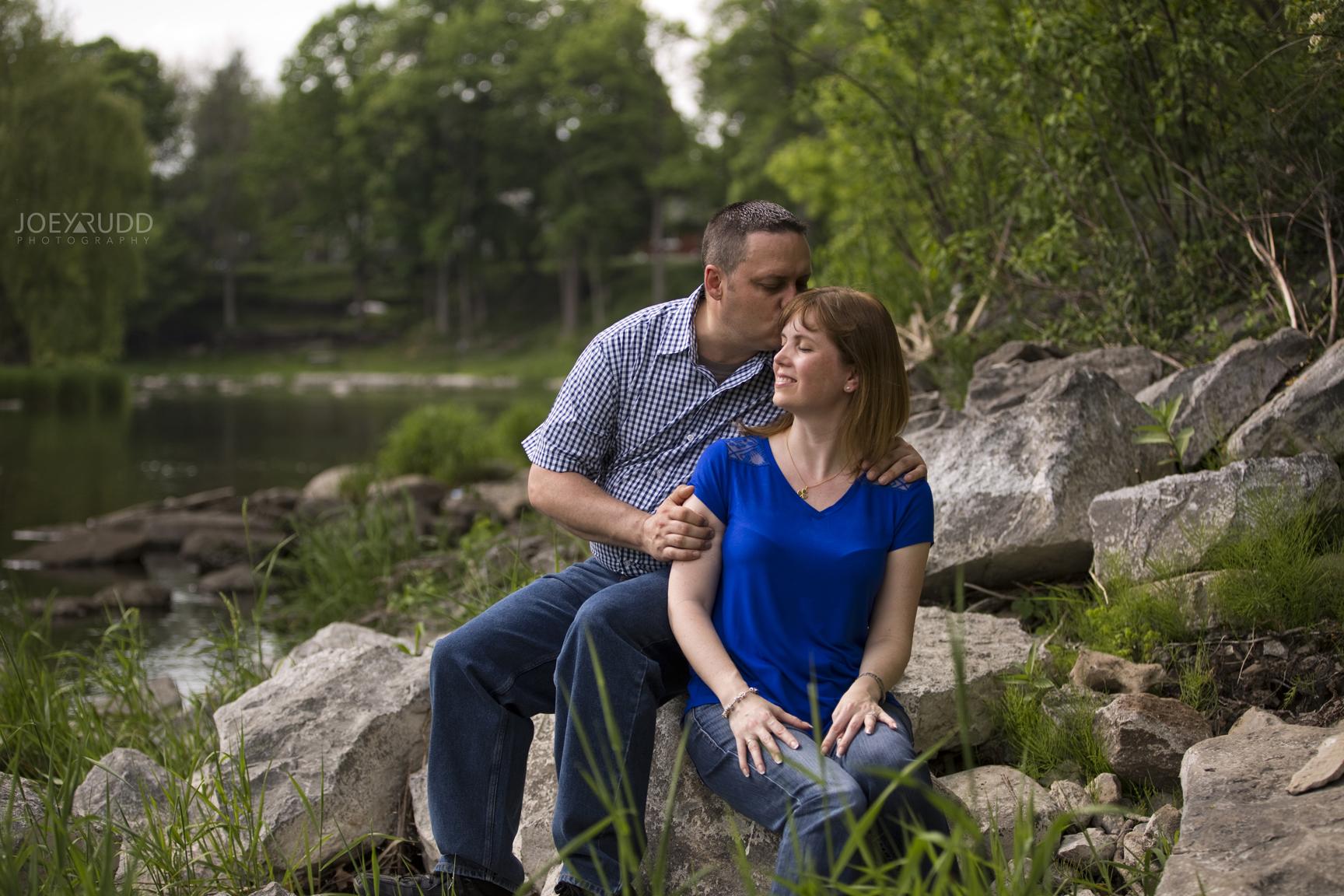 Manotick Engagement by Ottawa Wedding Photographer Joey Rudd Photography at Watsons Mill Creek