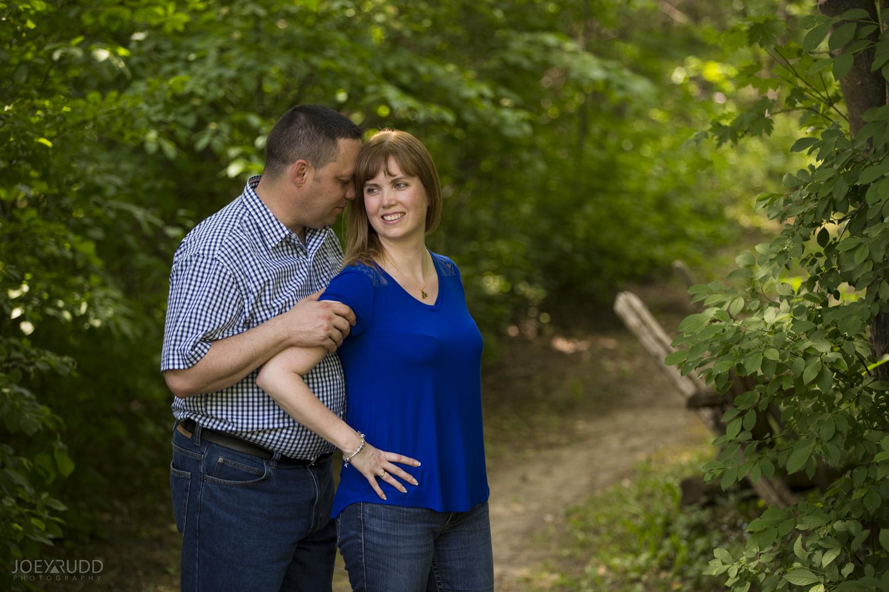 Manotick Engagement by Ottawa Wedding Photographer Joey Rudd Photography at Watsons Mill Nature