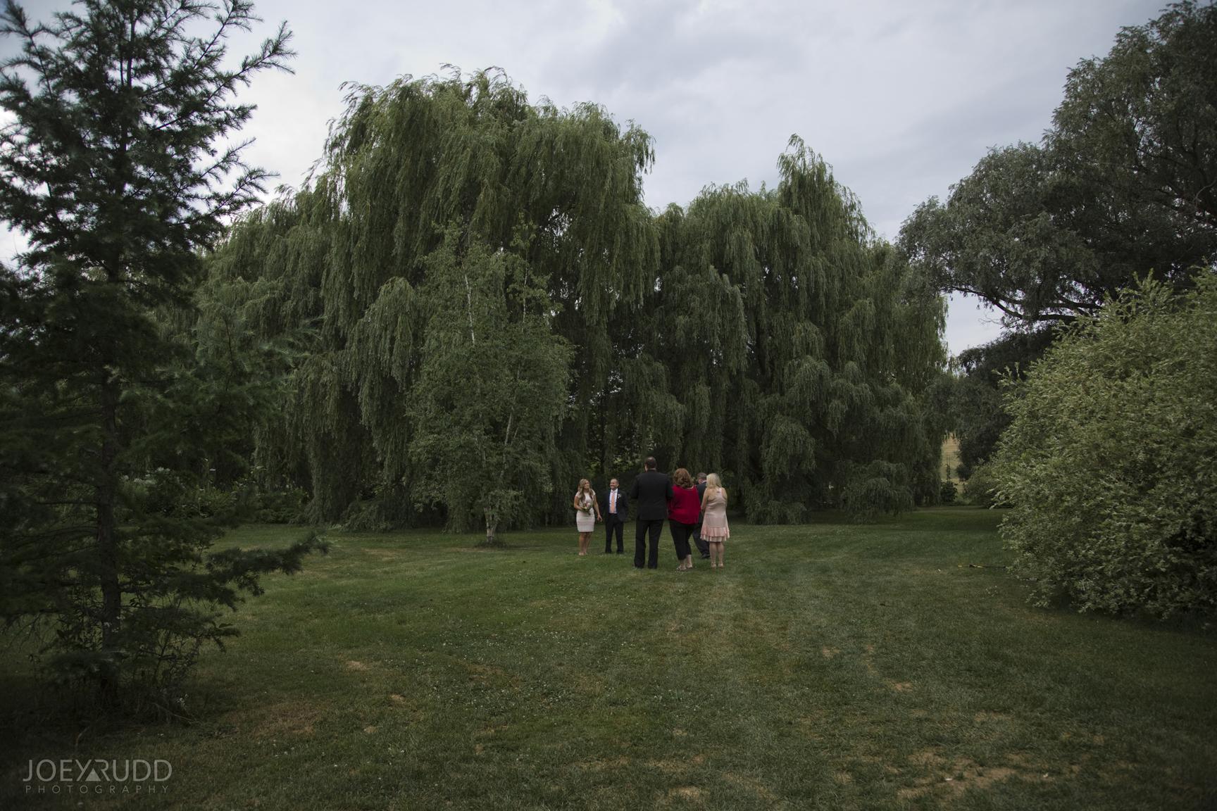 Elopement Wedding by Ottawa Wedding Photographer Joey Rudd Photography Arboretum Ceremony Experimental Farm