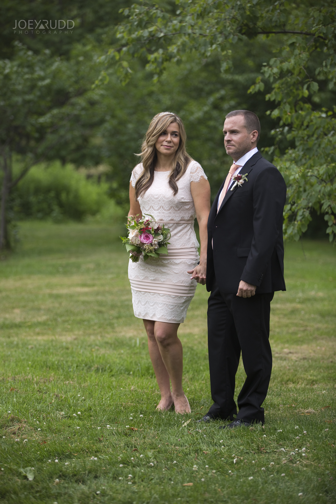 Elopement Wedding by Ottawa Wedding Photographer Joey Rudd Photography Arboretum Candid