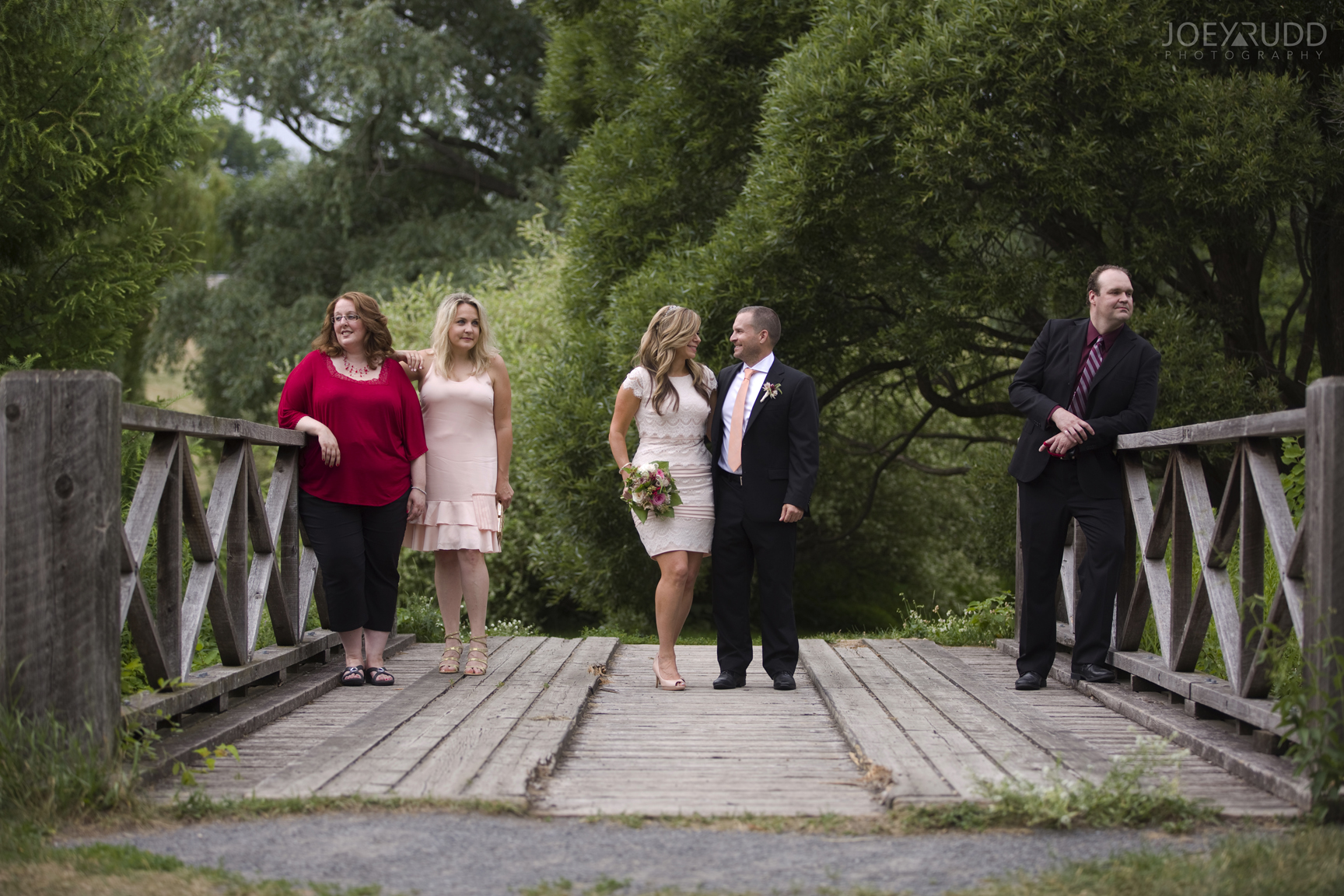 Elopement Wedding by Ottawa Wedding Photographer Joey Rudd Photography Arboretum Wedding Party