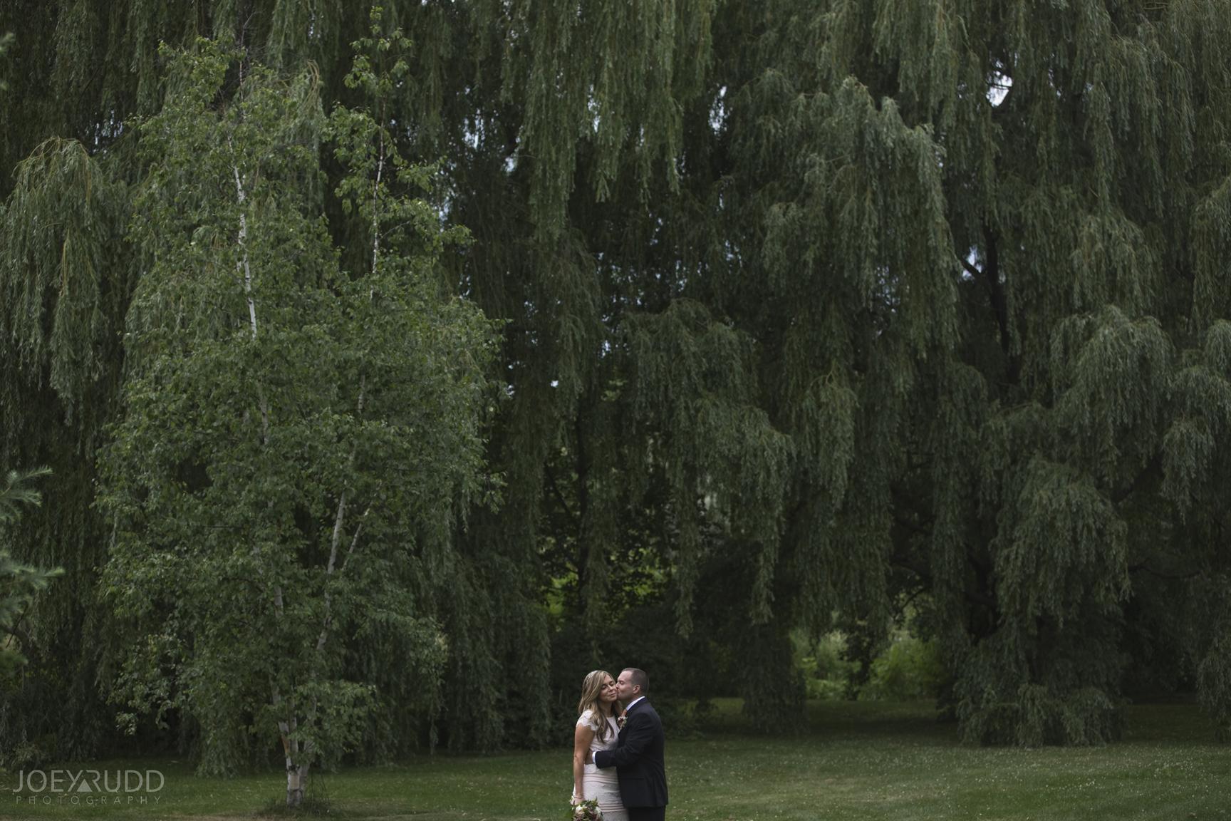 Elopement Wedding by Ottawa Wedding Photographer Joey Rudd Photography Arboretum Willows