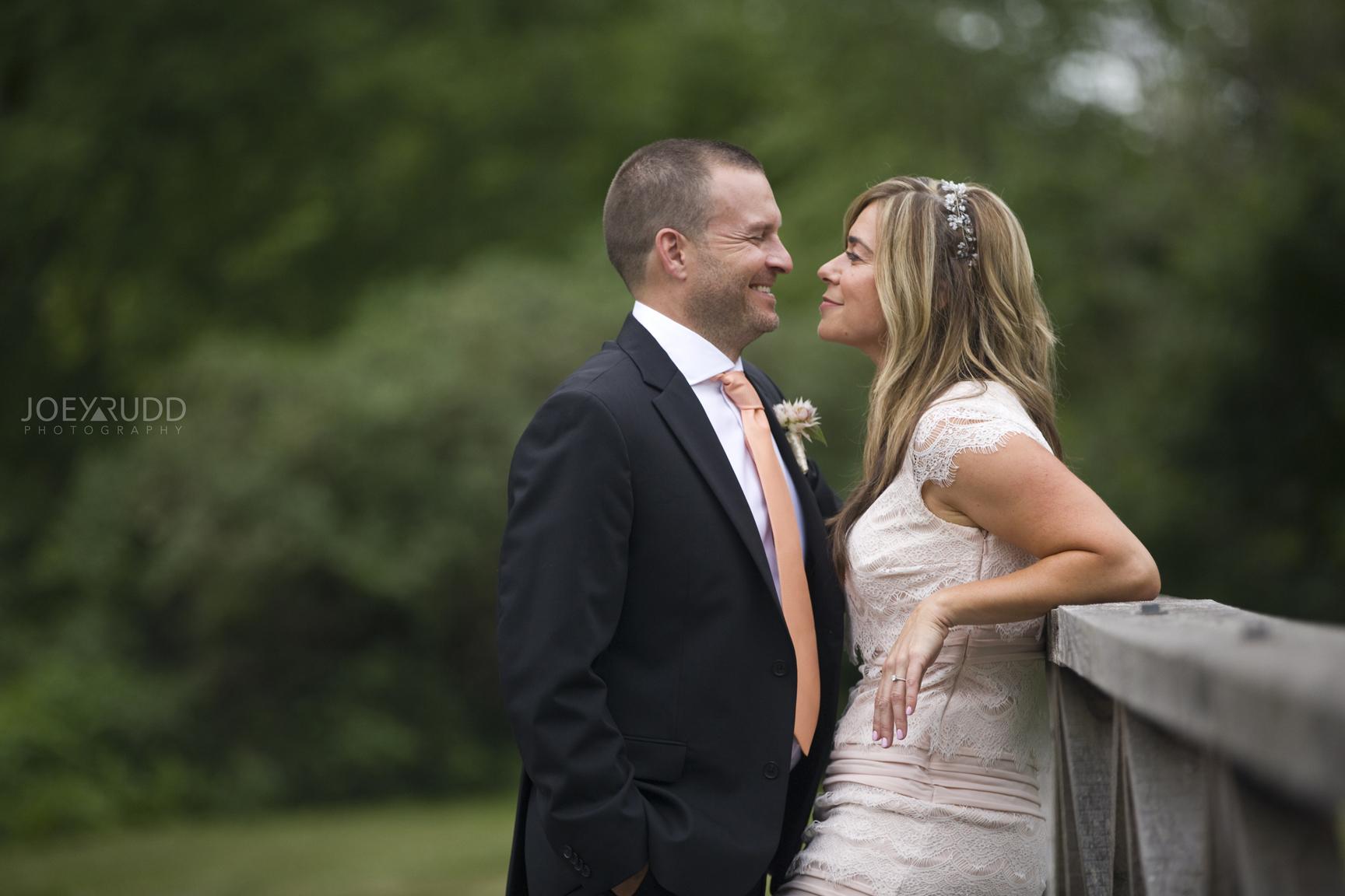 Elopement Wedding by Ottawa Wedding Photographer Joey Rudd Photography Arboretum Bridge Bride and Groom