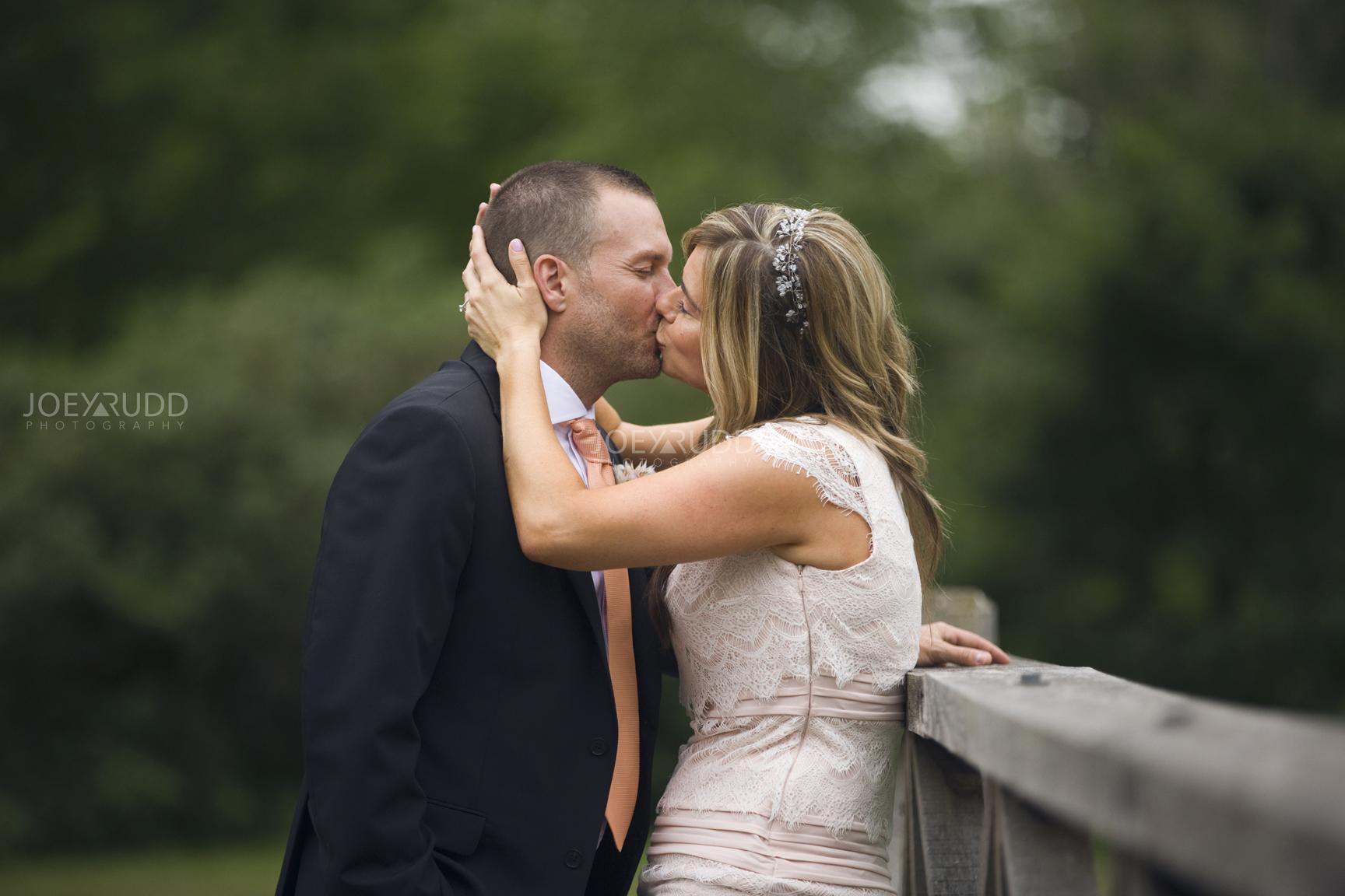 Elopement Wedding by Ottawa Wedding Photographer Joey Rudd Photography Arboretum Kiss