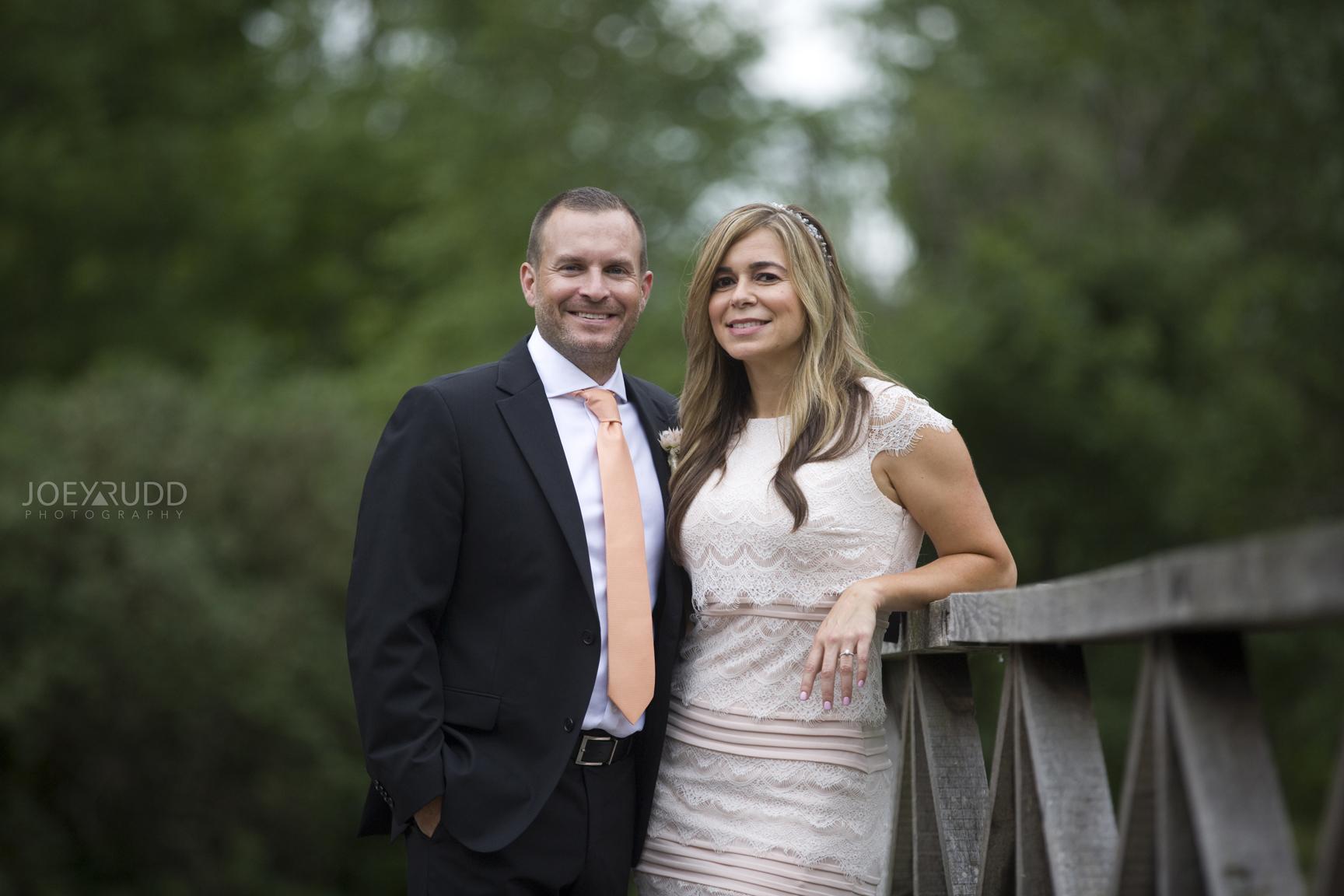 Elopement Wedding by Ottawa Wedding Photographer Joey Rudd Photography Arboretum Bride Smiling