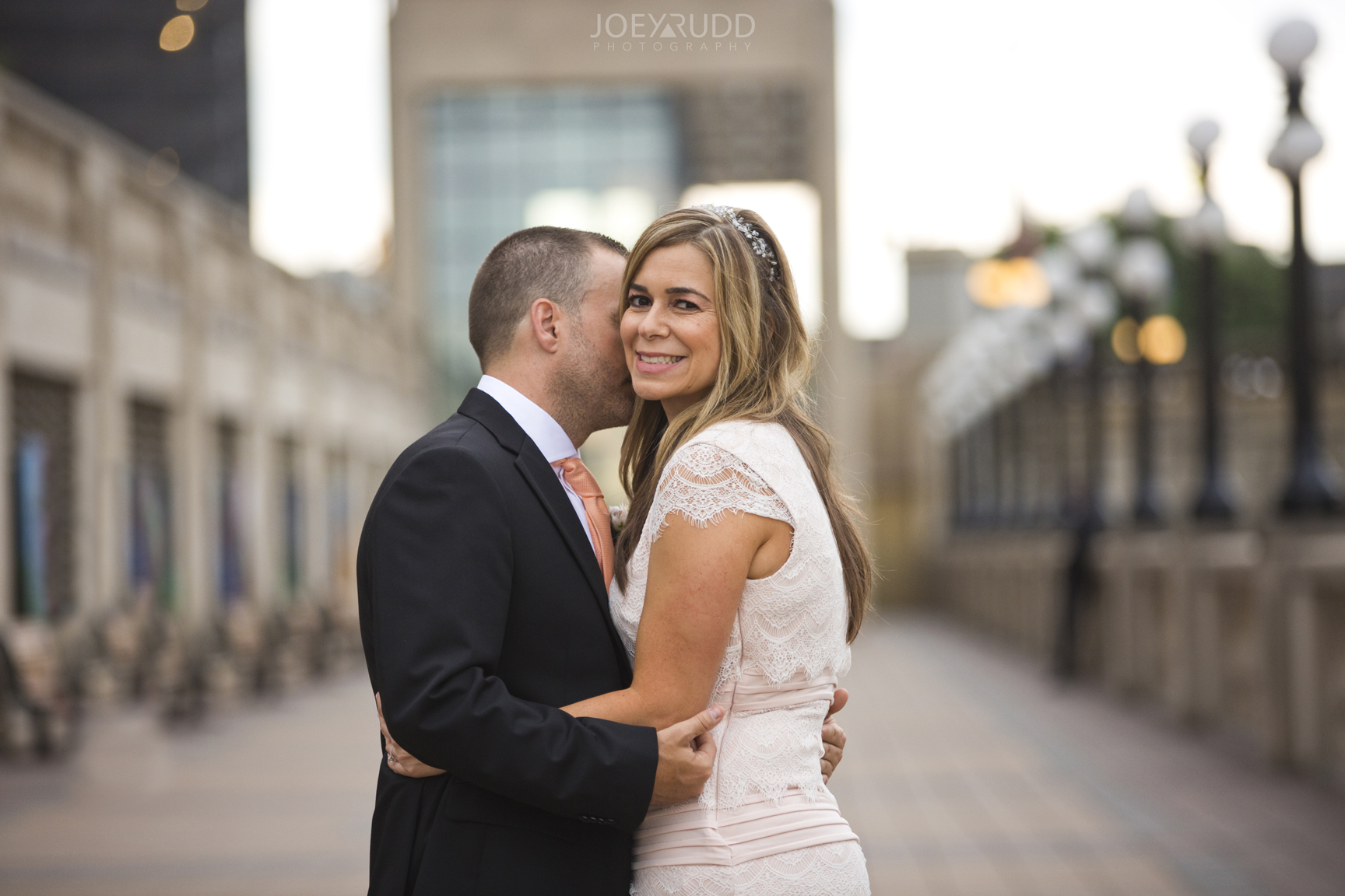 Elopement Wedding by Ottawa Wedding Photographer Joey Rudd Photography Majors Hill Chateau Laurier Balcony