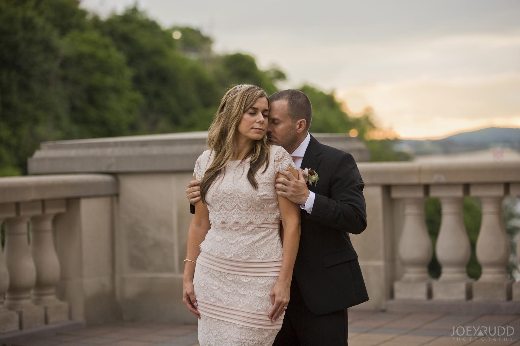 Elopement Wedding by Ottawa Wedding Photographer Joey Rudd Photography Majors Hill Sunset Chateau Laurier